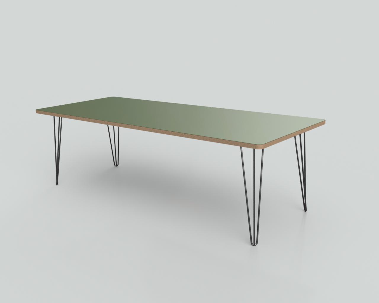 Linoleum tafel treespoke