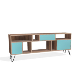 Sideboard Walnut with Hairping legs