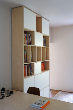 Home office boekenkast