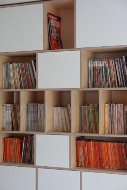 stripverzameling kast